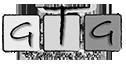 Logo GTG czarno-białe