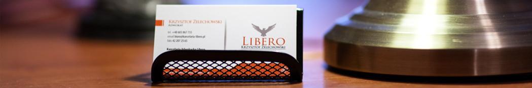 Kancelaria adwokacka Libero - wizytówka