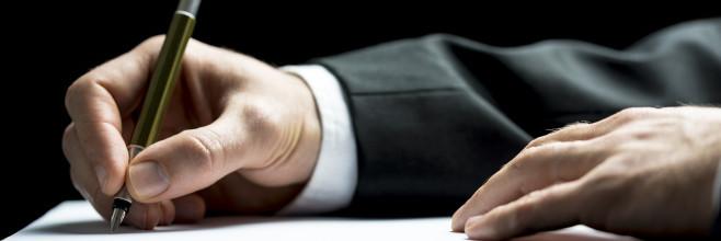 Przyjęcie lub odrzucenie spadku, podpisywanie dokumentów