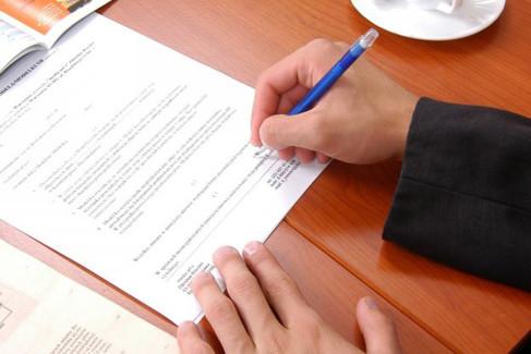 Zrzeczenie dziedziczenia, podpisywanie umowy