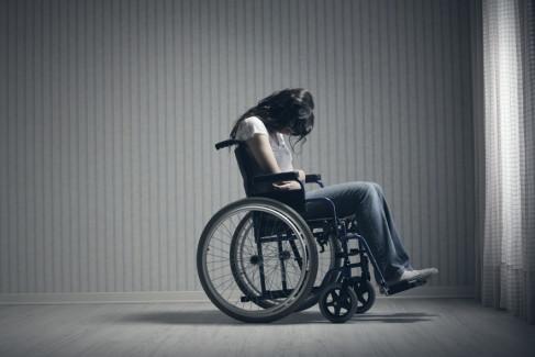 osoba na wózku inwalidzkim, niezdolność do pracy
